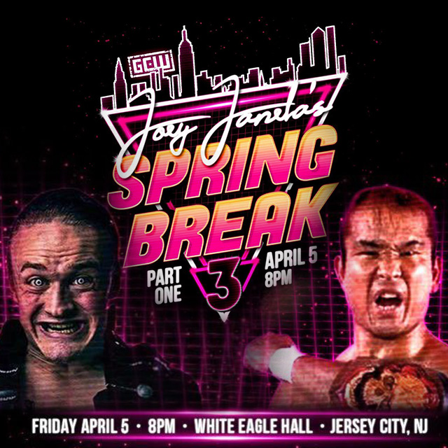 JOEY JANELA'S SPRING BREAK 3: PART ONE