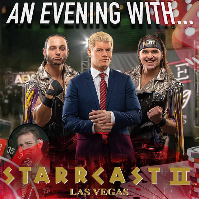 STARRCAST 2: An Evening with Cody & The Bucks hosted by Alex Marvez